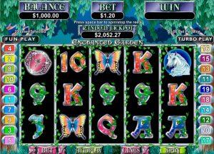Enchanted Garden spelautomater