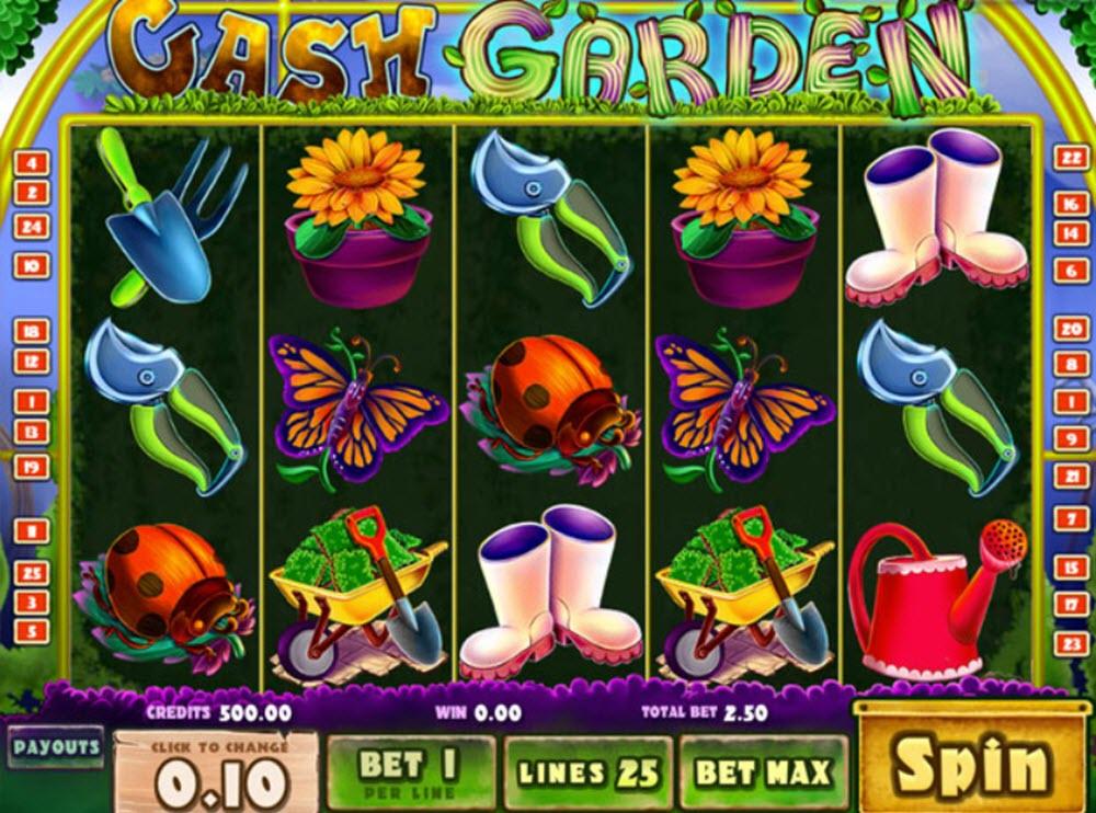 cash garden spelautomat