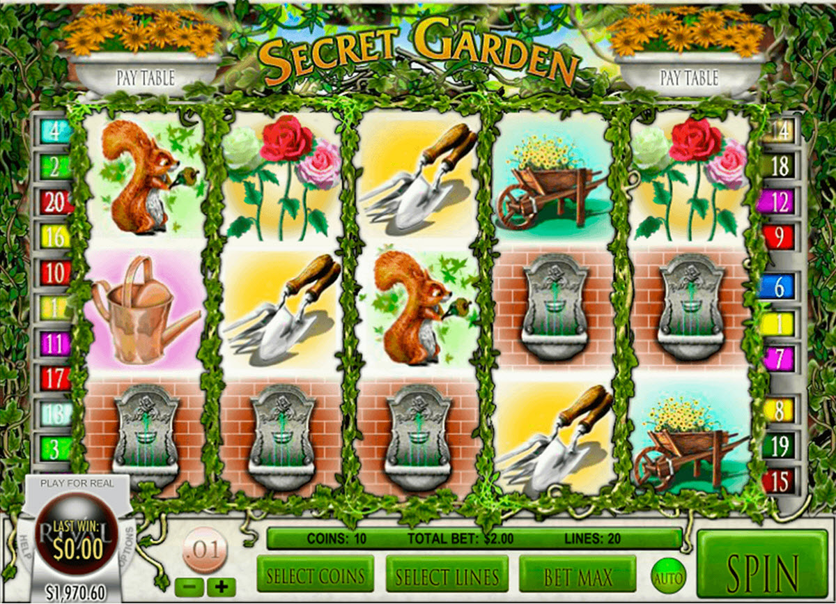 secret garden spelautomat